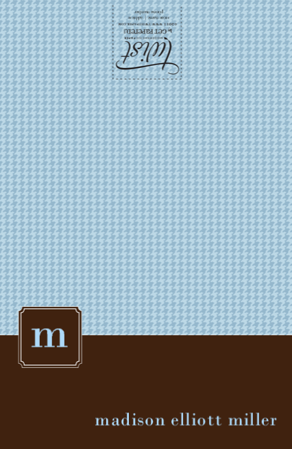 Blue Brown Tiny Houndstooth
