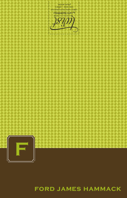 Lime Brown Tiny Houndstooth