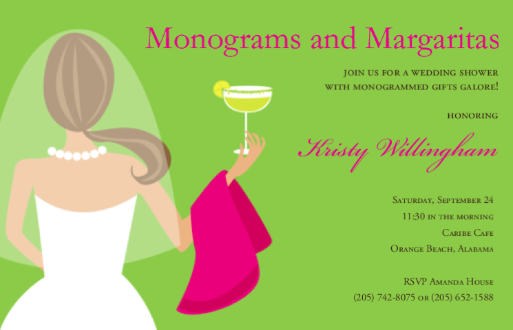 Monograms and Margaritas